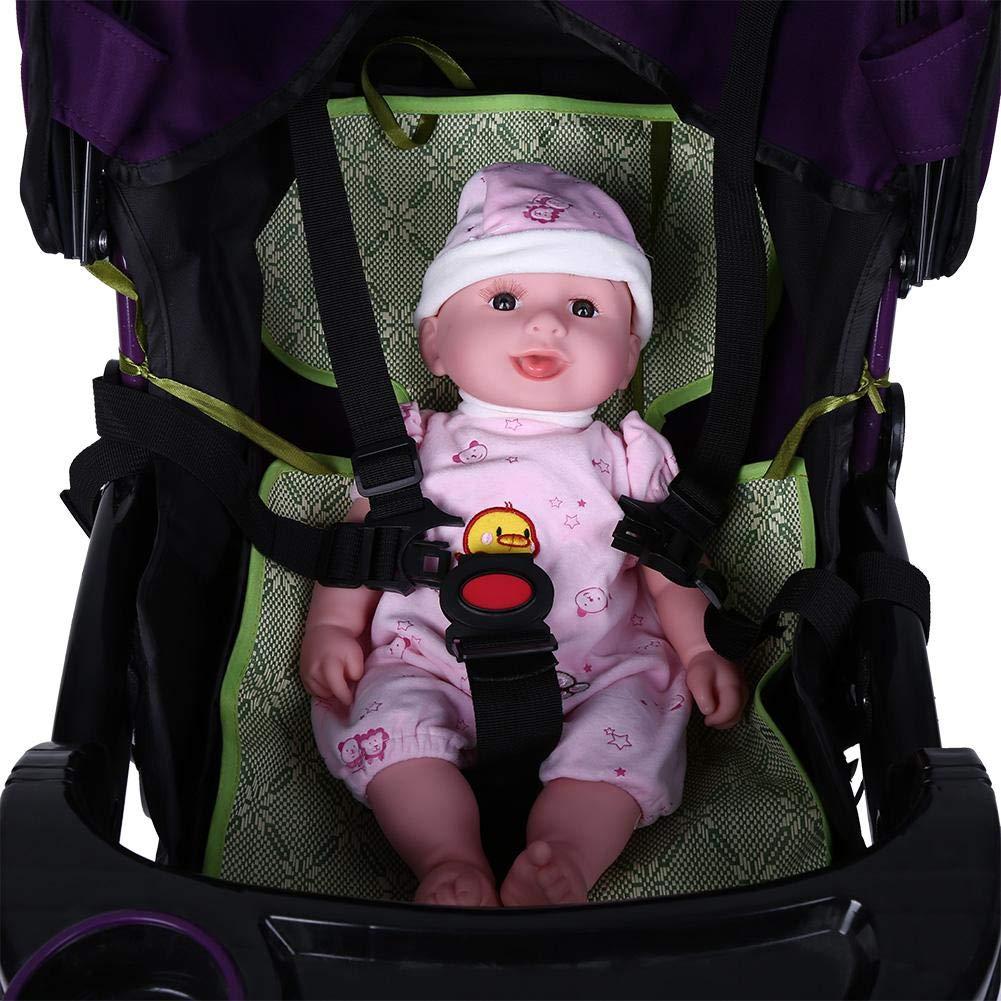 5 Point Baby Harness, Adjustable Baby Stroller Safety Strap Thick Webbing Kids Dining Chair Child Pram Seat Belt Pushchair