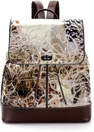 Indimization Animal Avian-Beak-917105 Casual Daypack, Leder-Rucks e, modische Reisetasche, Studentententasche, für Jungen und mädchen, für 27 x 12,3 x 32 cm
