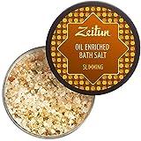 Zeitun Oil Enriched Bath Salt - Slimming - Natural Dead Sea Salt And...
