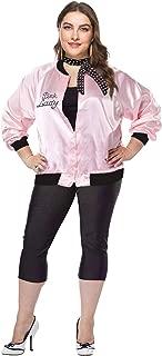 1950s Plus Size Rhinestone Women Jacket with Polka Dot Scarf