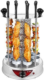 Barbacoa Estufa, Spin uso en el hogar sin humo automática Kebab Máquina vertical de la torre Grill, fácil de quitar la taza de aceite, fácil de limpiar