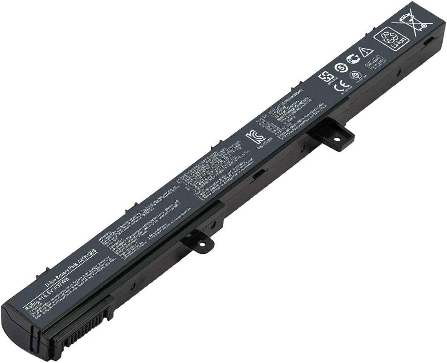 Popular product Yongerwy A41N1308 Laptop Battery for D550C D550MA ASUS Ranking TOP12 X451