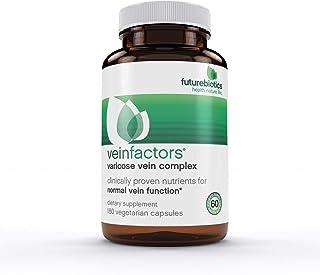 FutureBiotics VeinFactors, Varicose Vein Complex, 180 Vegetarian Capsules