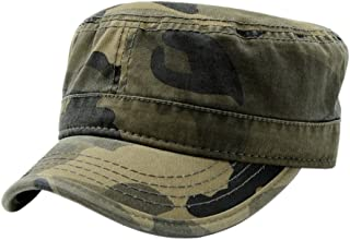 Cotton Cadet Army Military Cap Hats for Unisex Adult