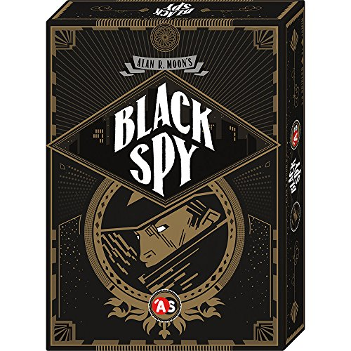 Abacusspiele 28161 – Black Spy, Jeux de Cartes
