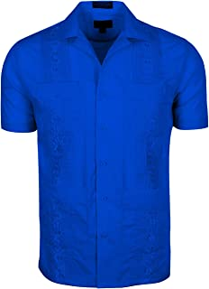 Men's Short & Long Sleeve Cuban Guayabera Shirts