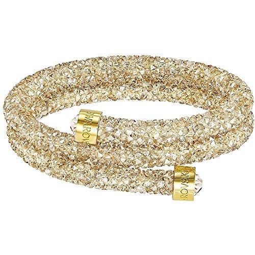 Swarovski Crystaldust Bracciale doppio - Cristallo dorato - 5237763