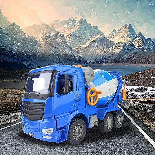 Mezclador de juguetes de camión, mezclador de plástico/metal, 46 * 19 * 27 cm de ingeniería de vehículos de construcción