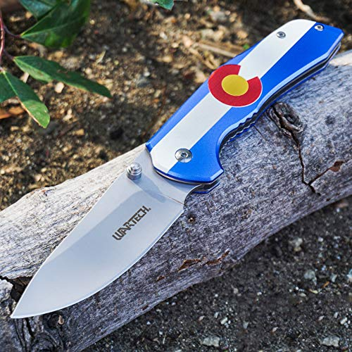 KCCEDGE BEST CUTLERY SOURCE EDC Pocket Knife Camping Accessories...