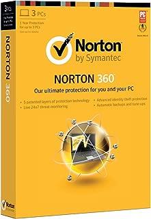 Norton 360 2013 - 1 User / 3 PC [Old Version]
