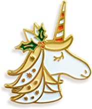 product image for Night Owl Paper Goods Holiday Unicorn Enamel Pin