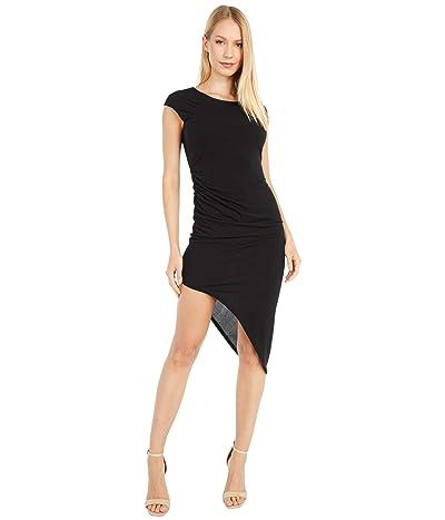 BCBGeneration Asymmetrical Dress YDM65P93 (Black) Women