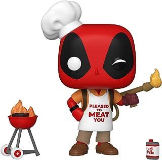 Funko Pop! Marvel: Deadpool 30th - Parrilla de patio trasero Deadpool