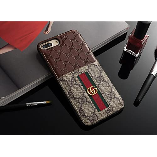 a59b4a21a37b New Elegant Luxury Iphones Protection Back Cover Cases Fashion Designer  Classic Style Full Protect Case Brown