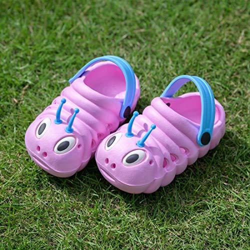 Kleine Tomate Unisex Kinder Hausschuhe, Pink - 6