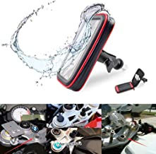 DUILU Motorcycle Phone Mount Holder Waterproof Windproof Mobile Phone Fixing Device for BMW S1000RR for Yamaha YZF R1 R6 RSV4