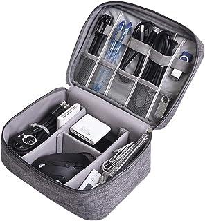 [Amazon限定ブランド] Moli&Hani デジタル収納袋 トラベルポーチ 万能モバイル収納 バッグ モバイル収納ケース 小物入れ整理 モバイルアクセサリー、充電ケーブル、イヤホーンコード、SDカード、USBメモリ 収納ポーチ 出張 旅行...
