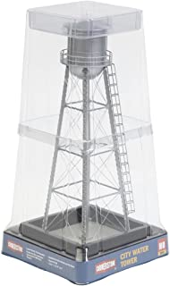 Walthers Cornerstone HO Scale Model Series Built-Ups City Water Tower Silver