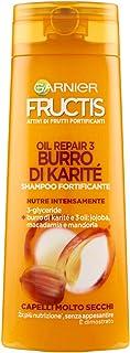 Garnier Fructis Oil Repair 3 Manteca Champú Manteca para Cabello Muy Cubos 250 ml