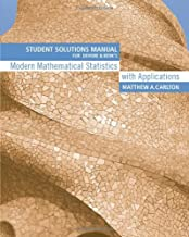 Student Solutions Manual for Devore/Berk's Modern Mathematical Statistics with Applications