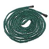 PKA Anself Flexibler erweiterbarer ultraleichter Gartenschlauch Magic Pipe 30,5 m Dunkelgrün