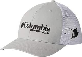Columbia PFG Logo Snap Back Ball Cap, Breathable, Adjustable