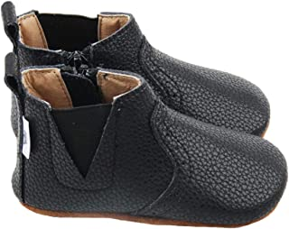 Liv & Leo Chelsea Oxford Bootie Leather