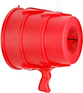 Airzooka Air Blaster- Blows 'Em Away - Air Toy for Adults and Children Ages 6 and Older -Red