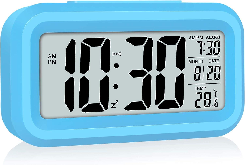 WulaWindy Cheap SALE Start Led Display Digital Alarm Operated Weekly update Clock Battery Smart