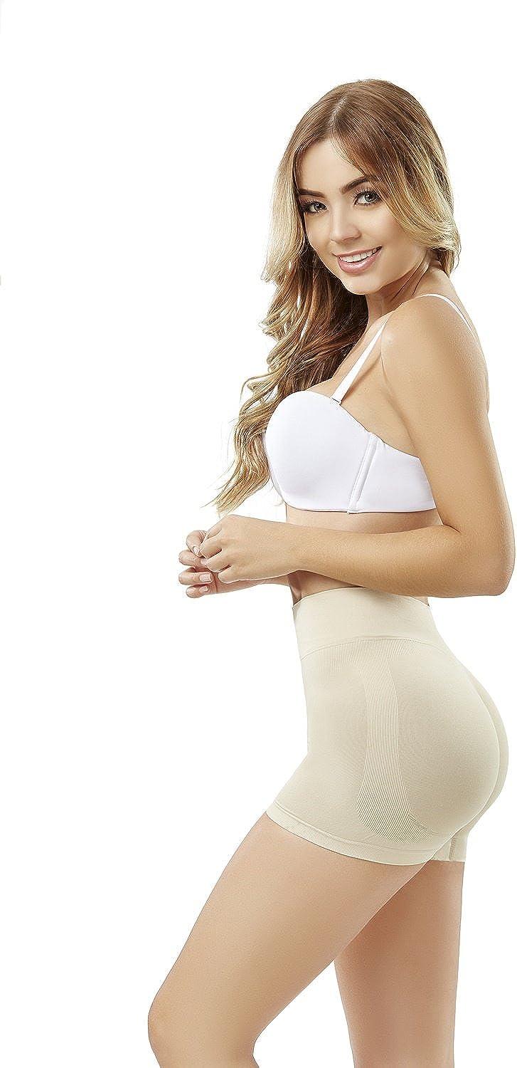 ShapEager Faja Mujer adelgaza moldea Reduce soporte Short - Thermal Slimmer