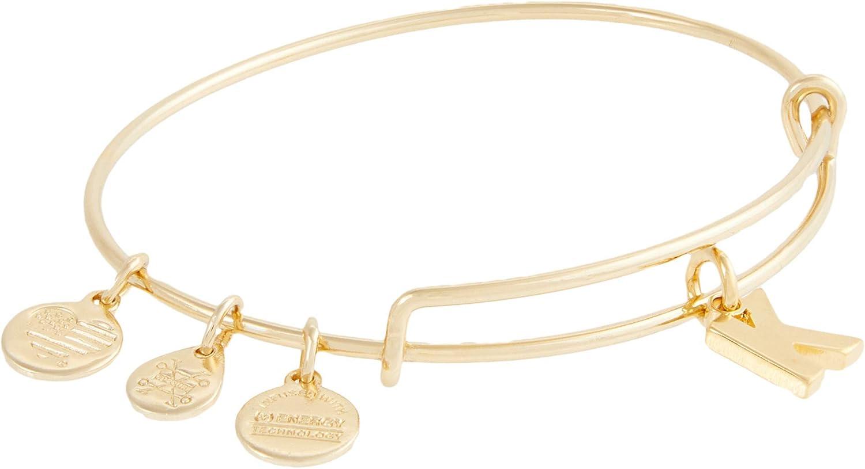 Alex and Ani Initial K III Bangle Bracelet