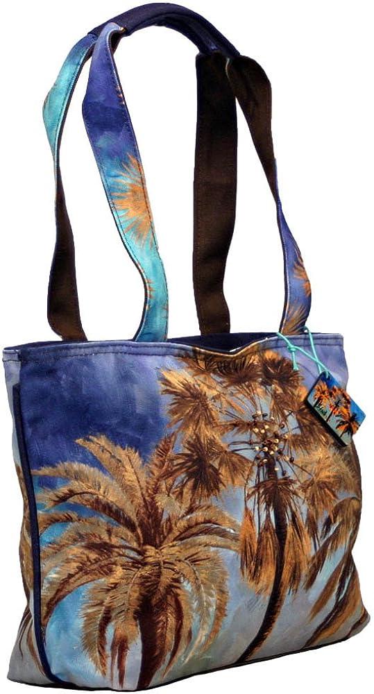 Carolina Palm Trees Shoulder Tote Top Handle Hand Bag