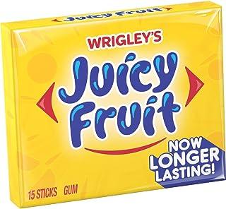 Juicy Fruit Original Bubble Gum, Single Pack (15 Pieces)
