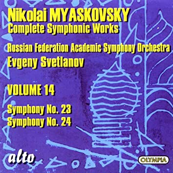 Nikolai Myaskovsky Complete Symphonic Works: Volume 14 - Symphony No. 23 & Symphony No. 24