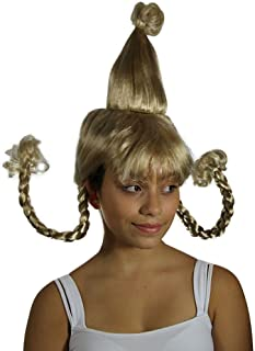 cindy lou who costume wig
