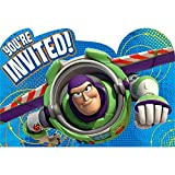 American Greetings Toy Story 3 Invite Postcards, 8 Count, Party Supplies