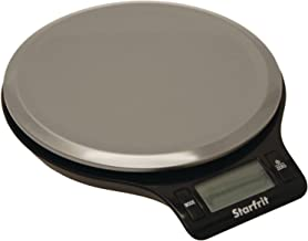 Starfrit 093765-006-0000 Electronic Kitchen Scale, Silver