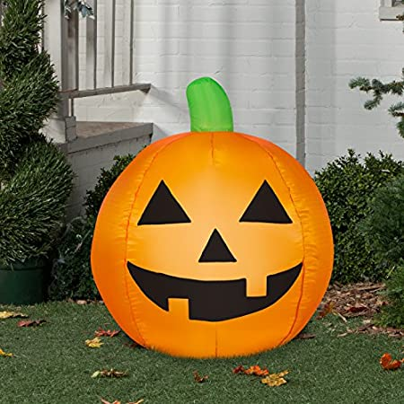 Inflatable Pumpkin - Cute and Fun Halloween Decoration Idea
