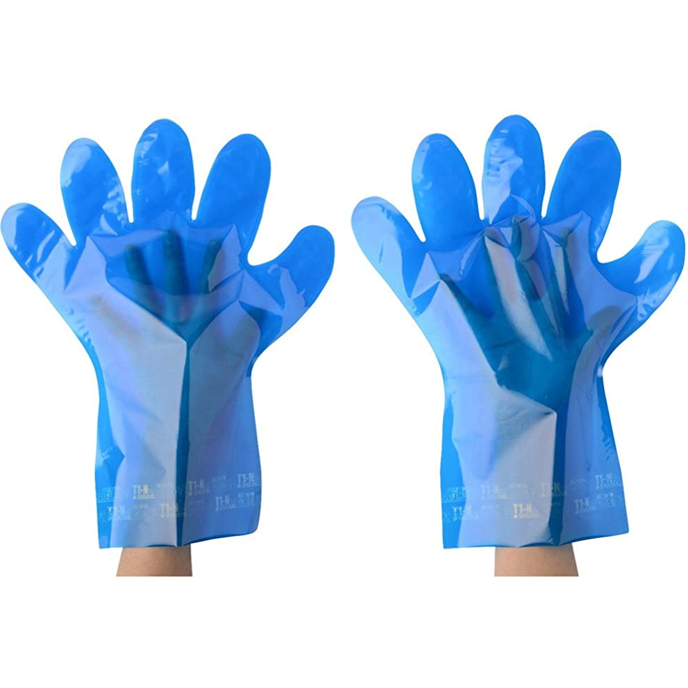 雄弁家申し込む降雨DAILOVE(ダイローブ) ダイローブT1-N(L)5双入り DT1-N-L 耐溶剤手袋(裏地付)