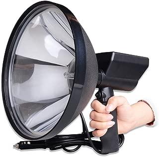OMGCAR 1PCS 240mm 9Inch HID Handheld Spotlights Offroad Hunting fishing Camping Spot light 12V 240 Blitz Coil Cord Cig Plug