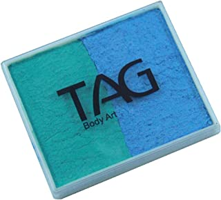 TAG 2 Color Split Cake - Pearl Teal and Sky Blue (50 gm)