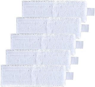 DingGreat Paquete de 5 Reemplazo de Almohadillas de Microfibra para Limpiador de Vapor Karcher EasyFix SC2 SC3 SC4 SC5