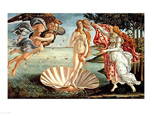 The Birth of Venus by Sandro Botticelli Art Print, 19 x 14 inches