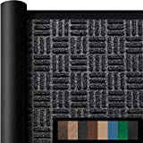 Amagabeli Large Outdoor Door Mats Rubber Shoes 36' x 24' Heavy Duty Low Profile Rug for Front Door Entrance Outside Patio Garage High Traffic Areas Indoor Waterproof