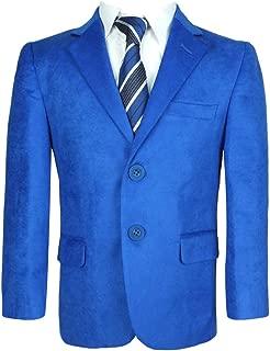 SIRRI Giacca Gabardine in Blu Navy Giacca da Ragazzo Blu Navy Casual Formale Blazer
