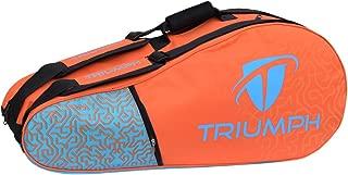 Triumph Pro-303 Stroke Double Compartment Badminton Kit Bag (10 Racquet Badminton Kit Bag)