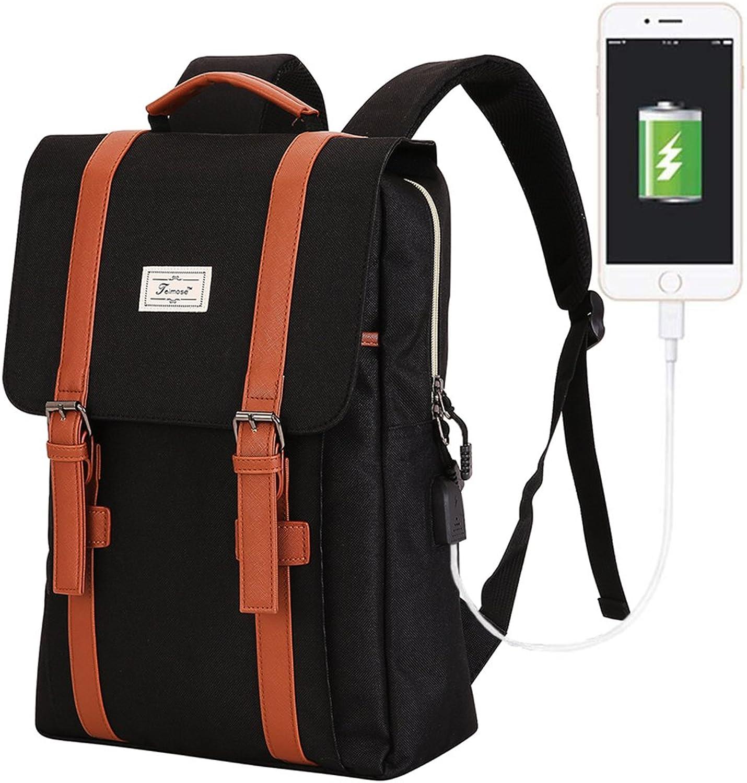 R0202 15.6inch Laptop Bag School Bag Backpack women &Men Outdoor Mountaineering Bag