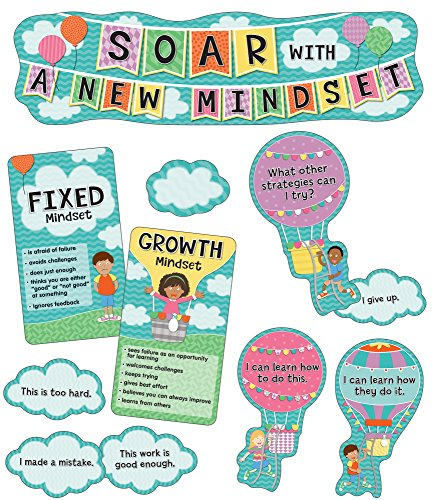 Soar With a New Mindset Mini Bulletin Board Set