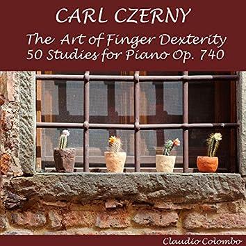 Czerny: The Art of Finger Dexterity, 50 Studies for Piano, Op. 740