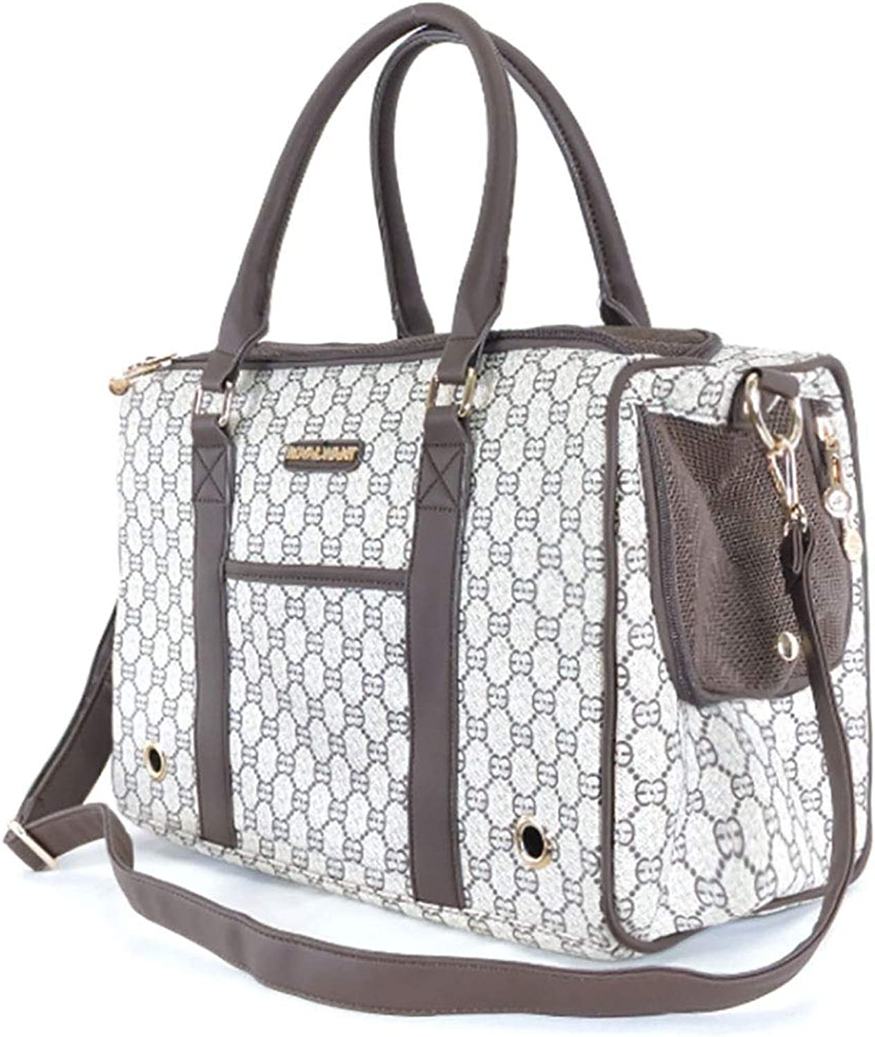c2eca652c1 Fashion Pet Carrier Cats and Dogs Outing Portable Breathable Handbag Pet  Tote Dog Purse for Travel